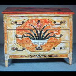 19c Painted Commode Chest - £2,950