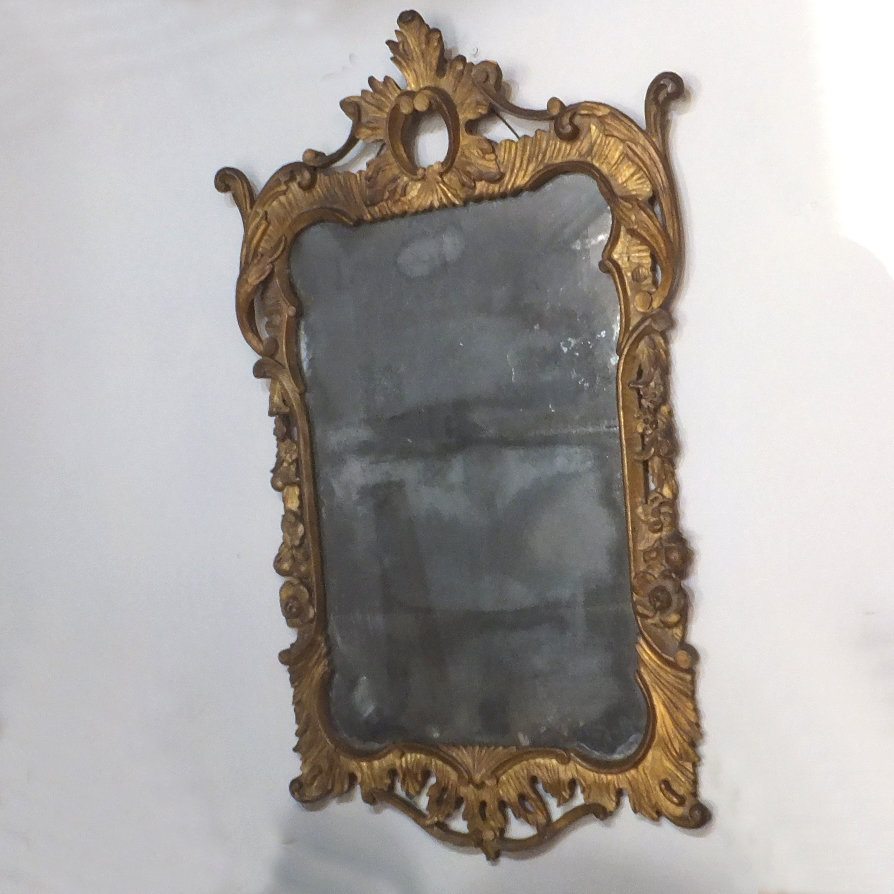 Antique ornate wall mirror decorative mirrors statues for Antique wall mirrors