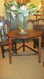 Fruitwood Cricket Table - £1,250