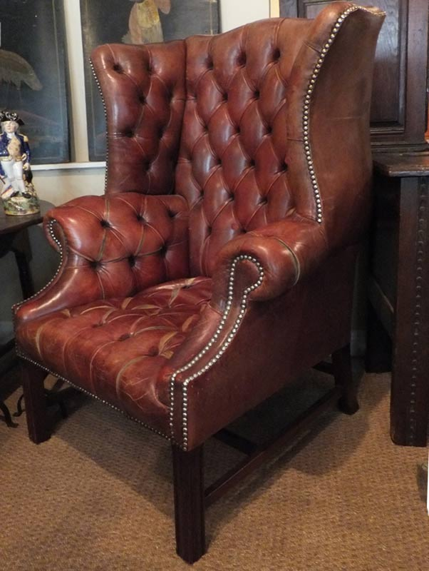 Gentlemans Library Armchair Chairs Settles