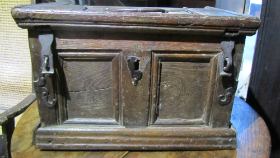 17c Oak Strongbox - £875