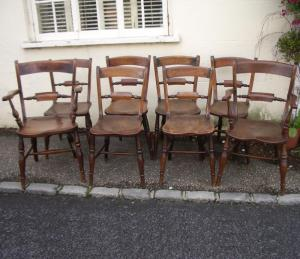 8 Oxford Windsor Chairs - £1,650