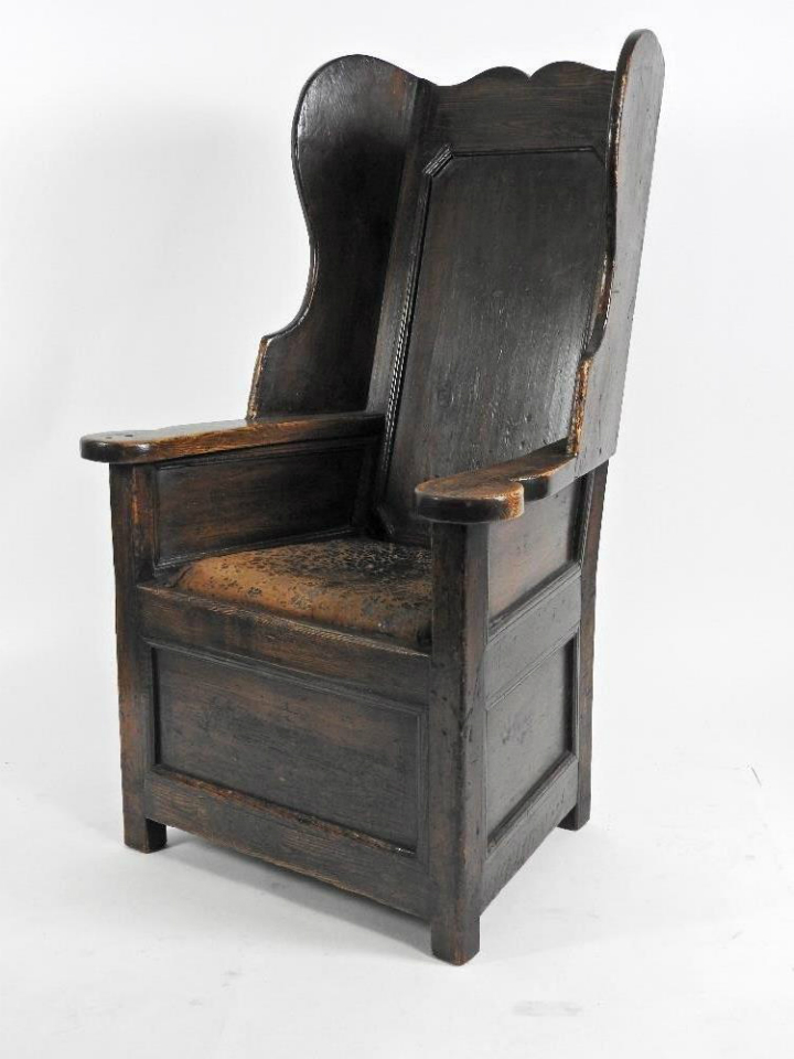 !8c Winged Armchair - £1,850