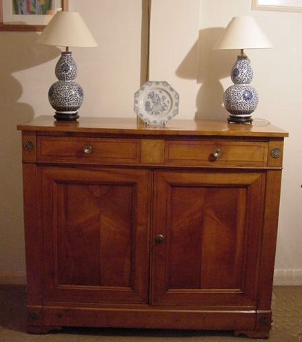 Antique Fruitwood Side Cabinet - Antique Fruitwood Side Cabinet - Tables, Cupboards, Dressers