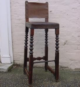 Antique High Stool - £395