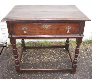 Antique Side Table - £575