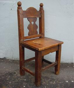 Antique Single Chair - £75