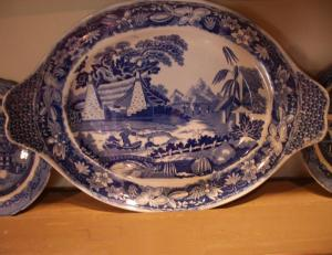 Blue and White Dish - PoA