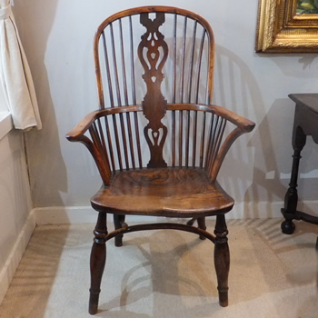 Yew Windsor Armchair - £1,250