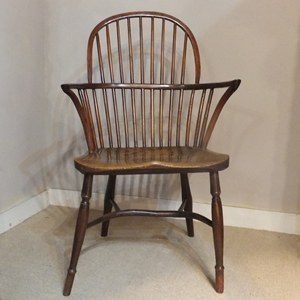 Yew Wood Windsor Chair - £495