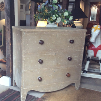 Original early 19c Chest of Drawers - £795