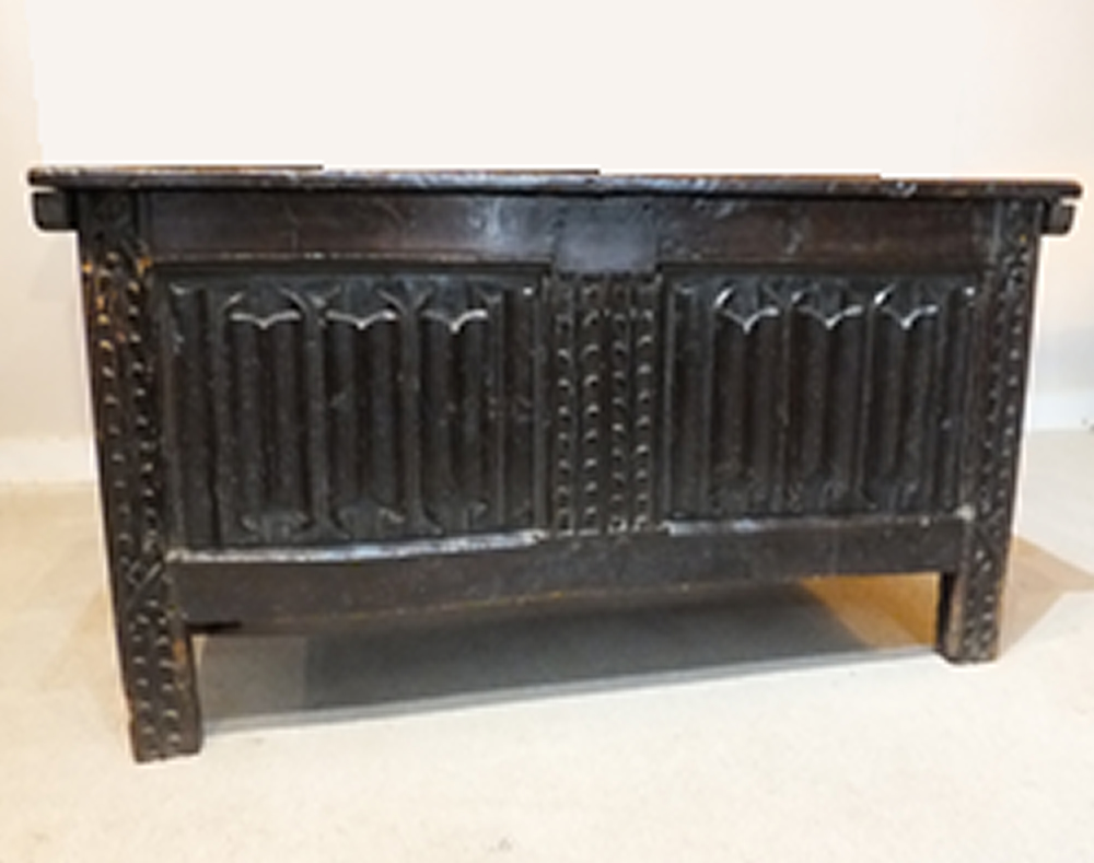 Early 16c Oak coffer - £5,950