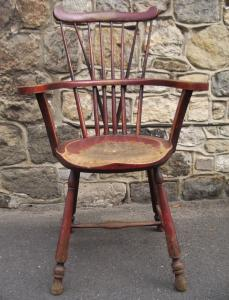 Comb-Back Windsor Armchair - £595