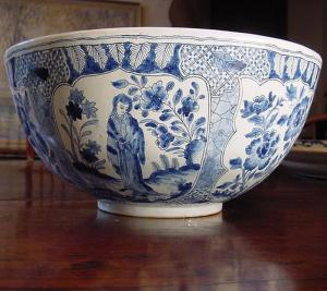 Delft Punch Bowl - £295