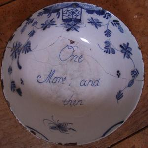 Delft Punch Bowl - £675