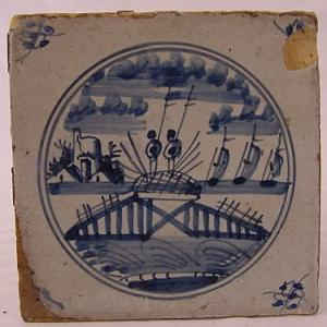 Delft Tile 21 - From £40 upwards