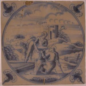 Delft Tile 32 - From £40 upwards