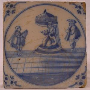 Delft Tile 33 - From £40 upwards