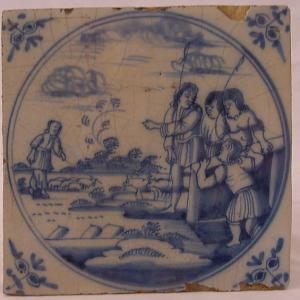 Delft Tile 34 - From £40 upwards