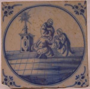 Delft Tile 36 - From £40 upwards