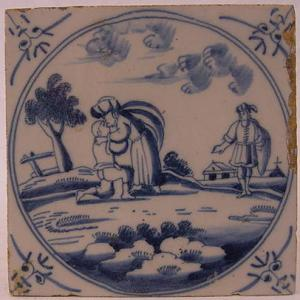 Delft Tile 39 - From £40 upwards
