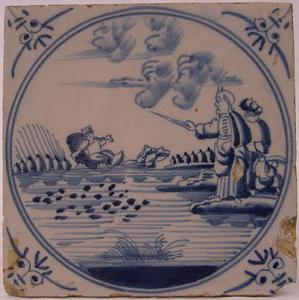 Delft Tile 41 - From £40 upwards