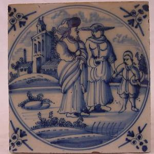 Delft Tile 45 - From £40 upwards