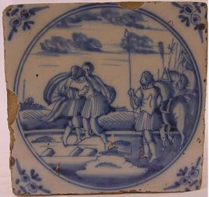 Delft Tile 46 - From £40 upwards
