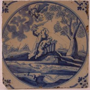 Delft Tile 48 - From £40 upwards