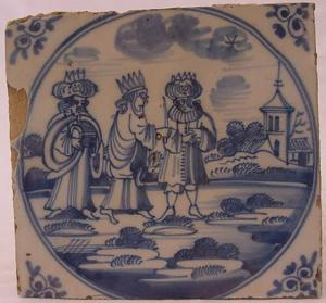 Delft Tile 50 - From £40 upwards