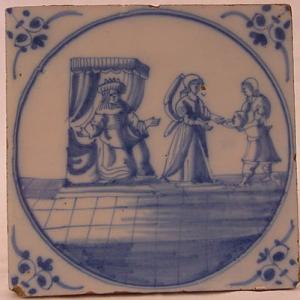 Delft Tile 54 - From £40 upwards