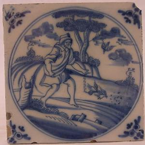 Delft Tile 57 - From £40 upwards