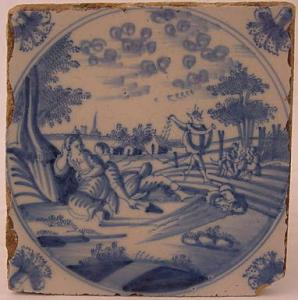 Delft Tile 70 - From £40 upwards