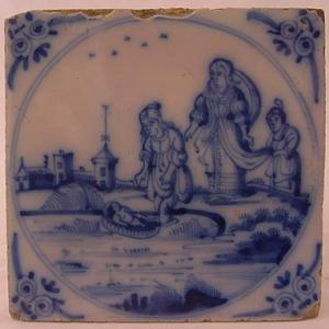 Delft Tile 75 - From £40 upwards