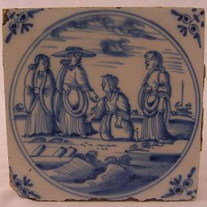 Delft Tile 76 - From £40 upwards