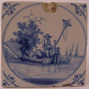 Delft Tile 80 - From £40 upwards