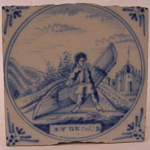 Delft Tile 81 - From £40 upwards