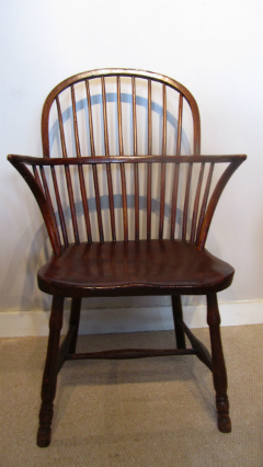 Early 19c Stick back Windsor Armchair - £495