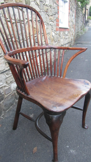 Georgian Stick Back Windsor - £1,250