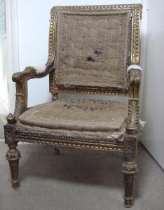 Gilt chair - £475