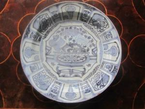 Large Delft Charger - £180