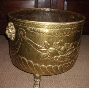Large Ornate  Copper Pot - PoA