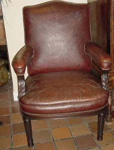 Leather Chair - £750