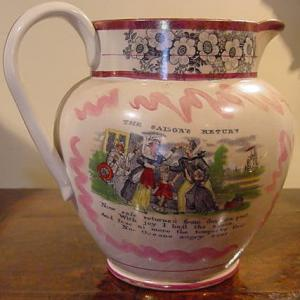 Love Jug 'The Sailors Return' - £395