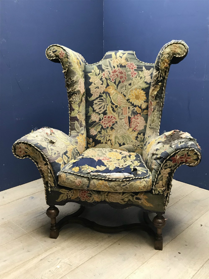 Magnificent Country House Armchair ... - Antiques UK - English Antique Furniture UK - Antique Oak Furniture