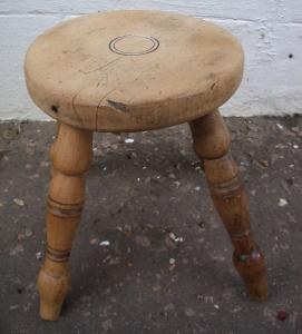 Milking stool - £65