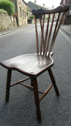 Most unusual set of Comb back chairs - £2,450