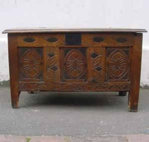Oak and Fruit Dorset Chest - £1,250