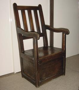 Oak Box Seated Chair - £1,250