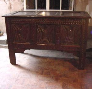 Oak Panelled Coffer - £1,250